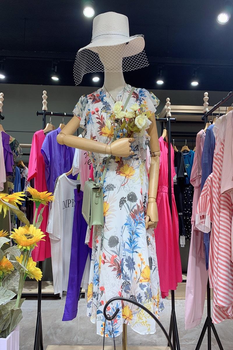 杭州20夏西子印象欧韩风时尚品牌折扣女装尾货