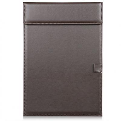 A4办公文具皮革文件夹板便携实用会议夹PU皮质垫板